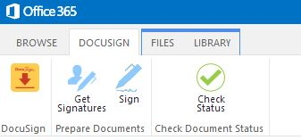 SharePoint DocuSign