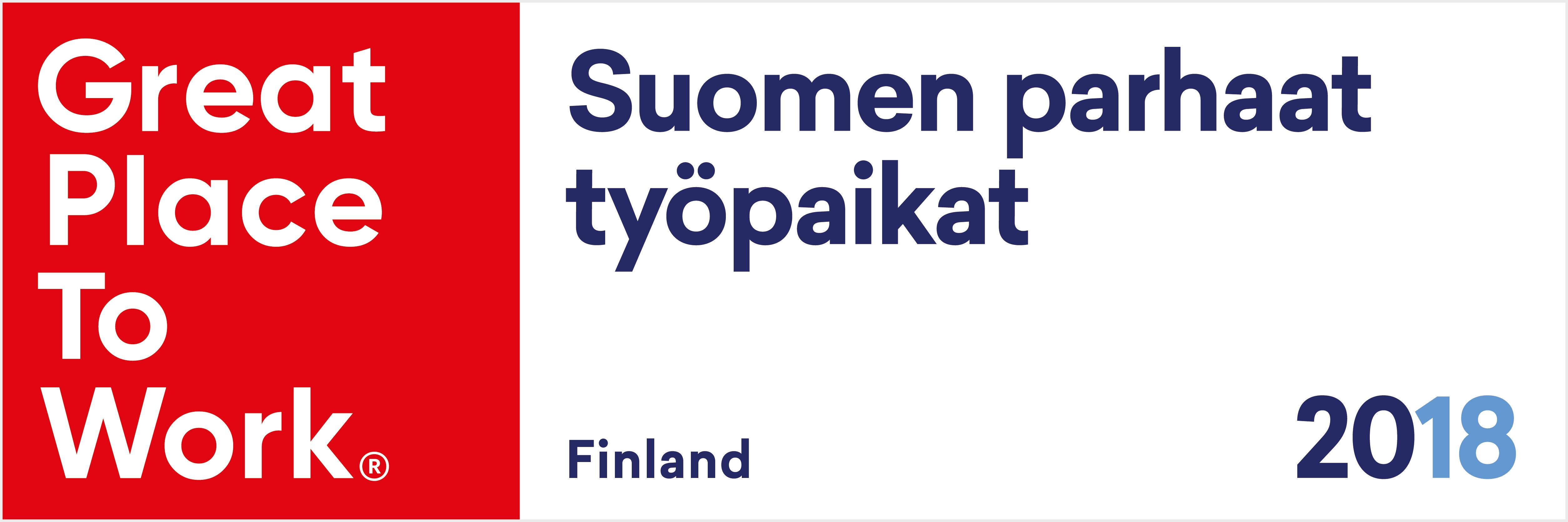 Suomen Parhaat Työpaikat 2018
