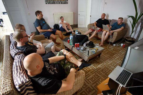 Alfamen Hackathon-viikonloppu