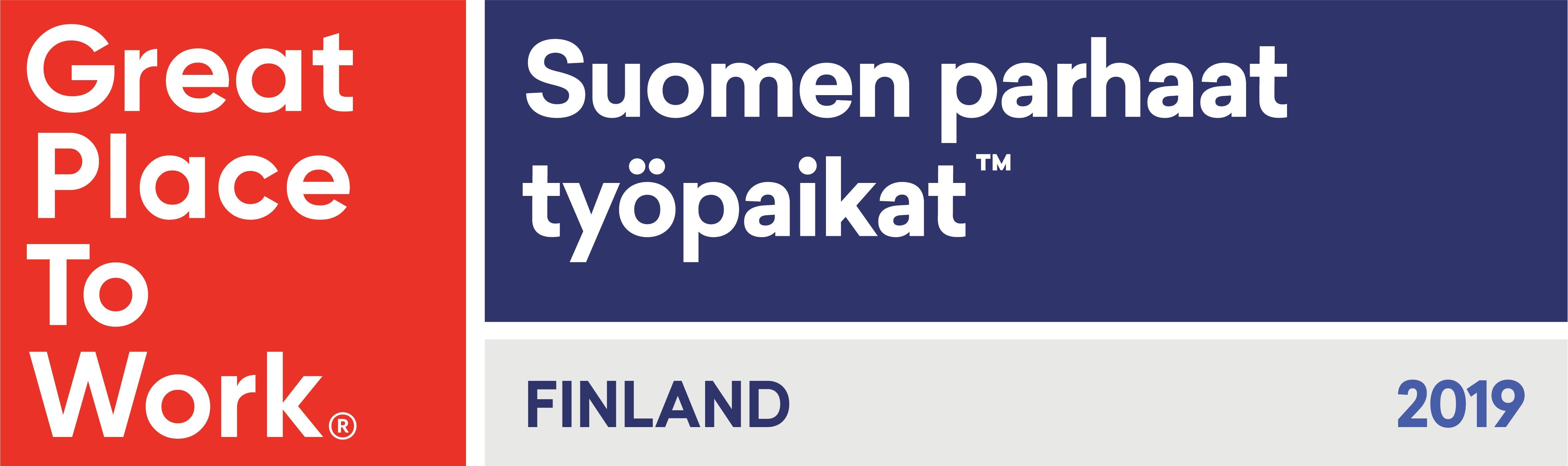 Suomen parhaat työpaikat GPTW
